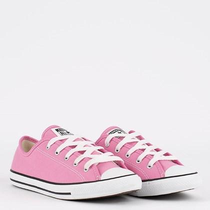 Tênis Converse Chuck Taylor All Star Dainty Seasonal Ox Rosa Flamingo CT17410003