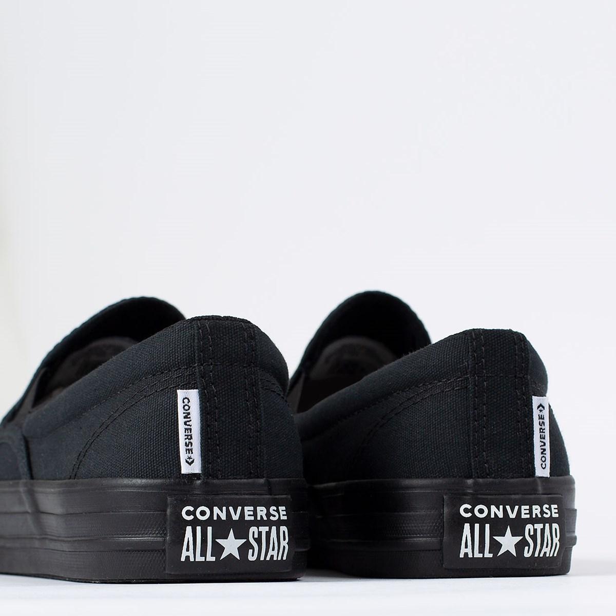 Tênis Converse Chuck Taylor All Star Double Gore Slip Preto Preto CT14580001