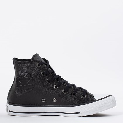 Tênis Converse Chuck Taylor All Star European Hi Preto Branco CT04490002
