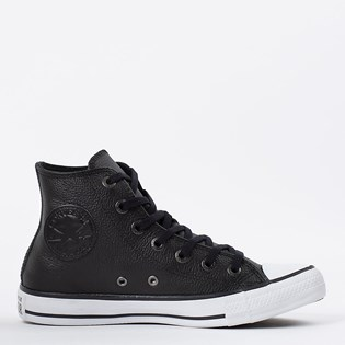 Tênis Converse Chuck Taylor All Star European Hi Preto Branco CT0449002