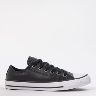 Tênis Converse Chuck Taylor All Star European Ox Preto Branco CT04480002