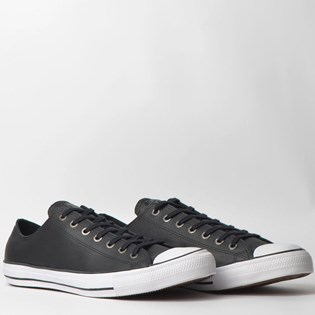 Tênis Converse Chuck Taylor All Star European Ox Preto Branco CT06040002