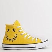 Tênis Converse Chuck Taylor All Star Hi Amarelo Vivo CT13180003