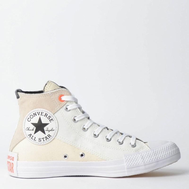 8830082ff8dbd Tênis Converse Chuck Taylor All Star Hi Amendoa CT11570001 - Loja Virus