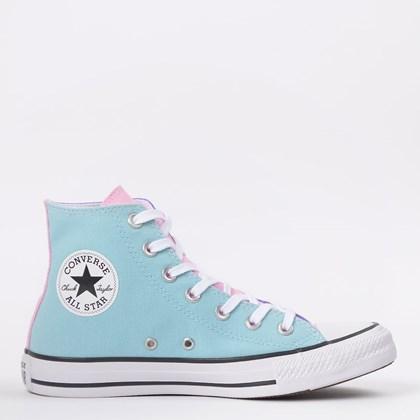 Tênis Converse Chuck Taylor All Star Hi Azul Bebê CT14520001