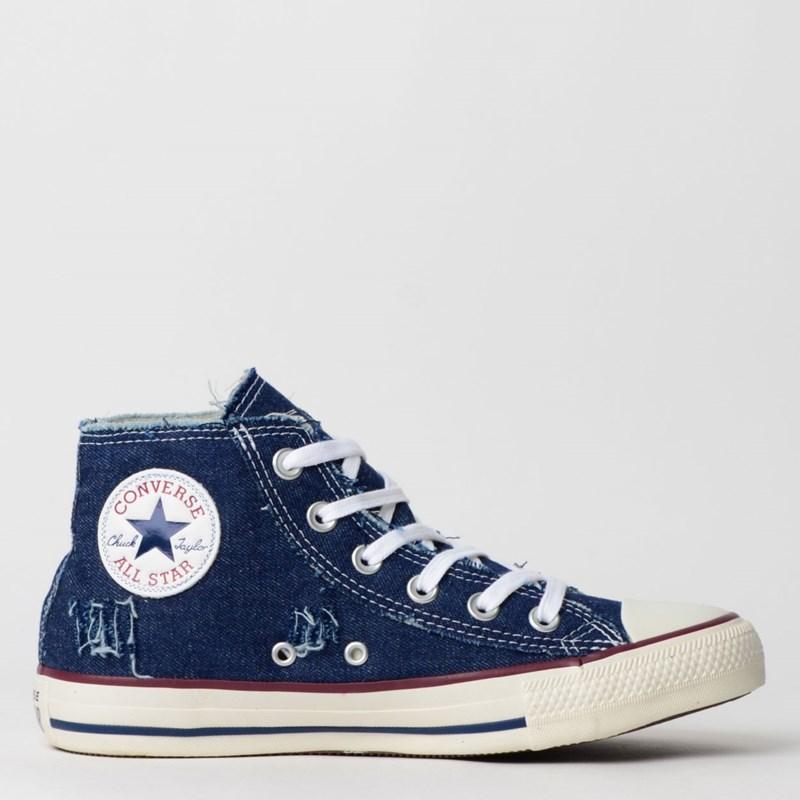 Tênis Converse Chuck Taylor All Star Hi Azul CT11970001