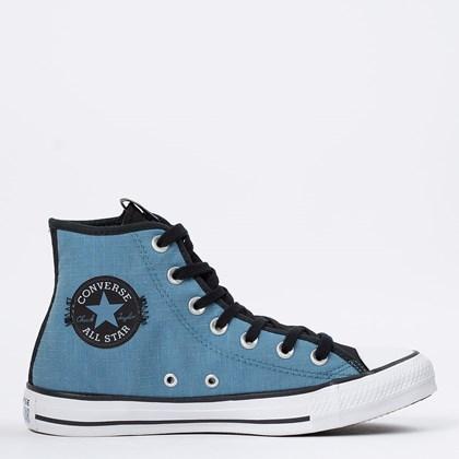 Tênis Converse Chuck Taylor All Star Hi Azul Escuro CT15800002