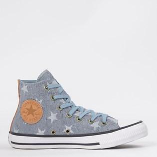 Tênis Converse Chuck Taylor All Star Hi Azul Indigo CT13890001