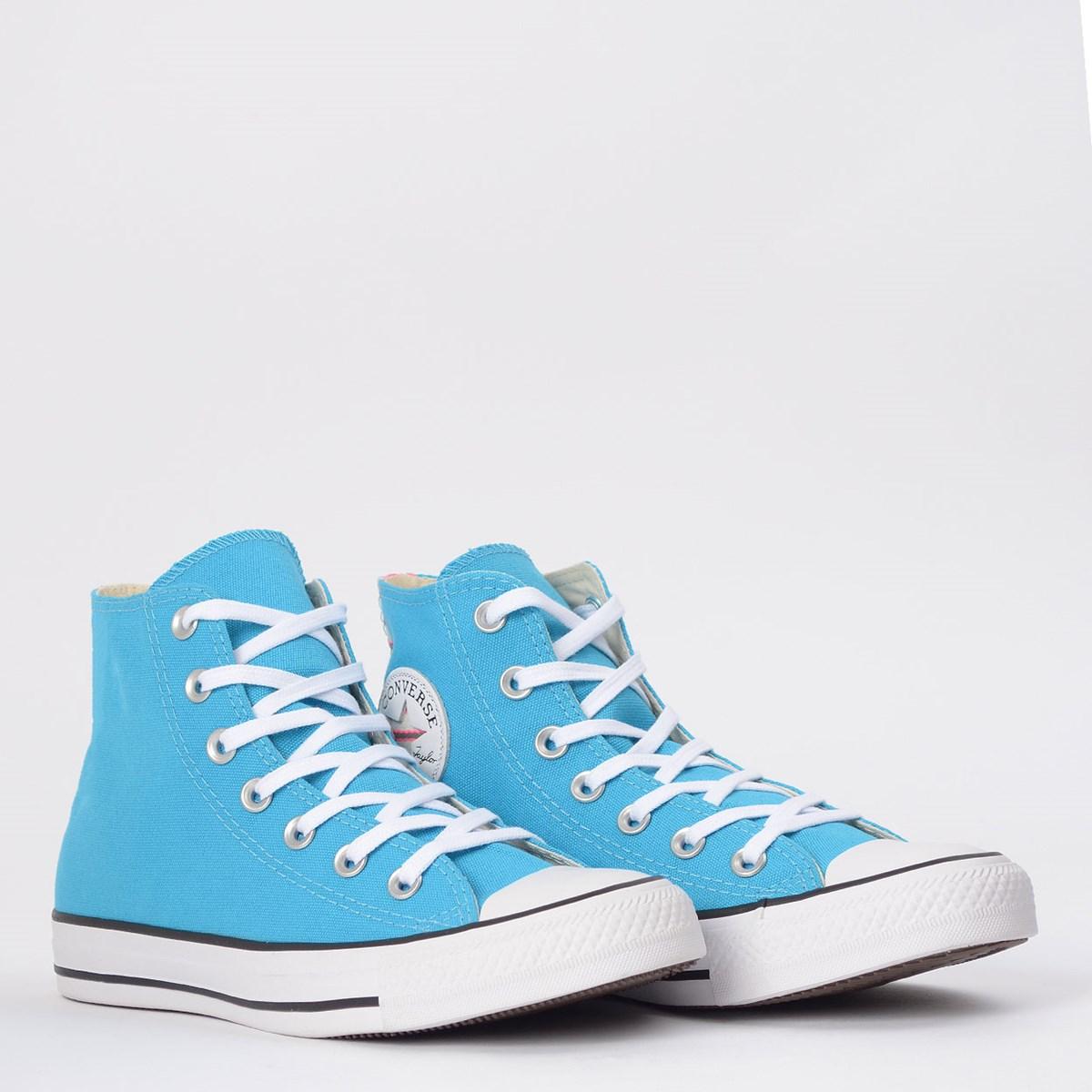 Tênis Converse Chuck Taylor All Star Hi Azul Náutico CT14860001