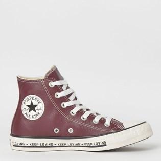 Tênis Converse Chuck Taylor All Star Hi Borgonha CT12080002