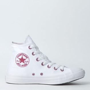 Tênis Converse Chuck Taylor All Star Hi Branco CT11850002