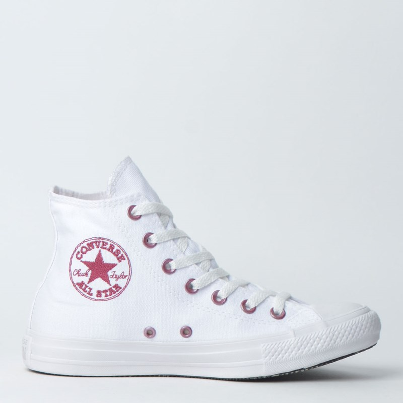 Tênis Converse Chuck Taylor All Star Hi Branco CT11850002