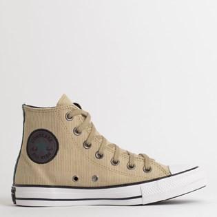 Tênis Converse Chuck Taylor All Star Hi Caqui Verde Escuro CT13460003