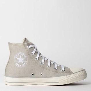 Tênis Converse Chuck Taylor All Star Hi Cinza Castanho CT12910003