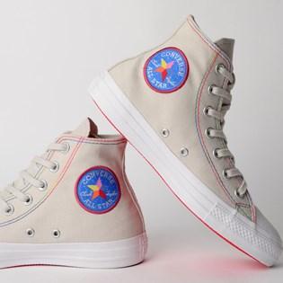 Tênis Converse Chuck Taylor All Star Hi Cinza Palido CT12550002