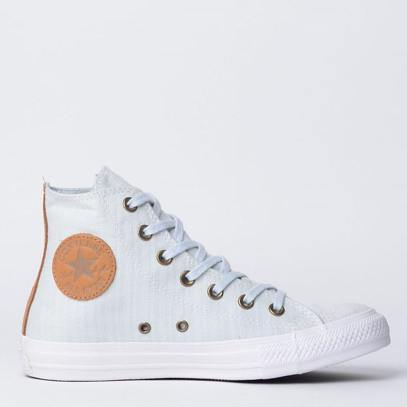 Tênis Converse Chuck Taylor All Star Hi Cinza Puro CT09010001 - Loja ... 987bcdd1713a4
