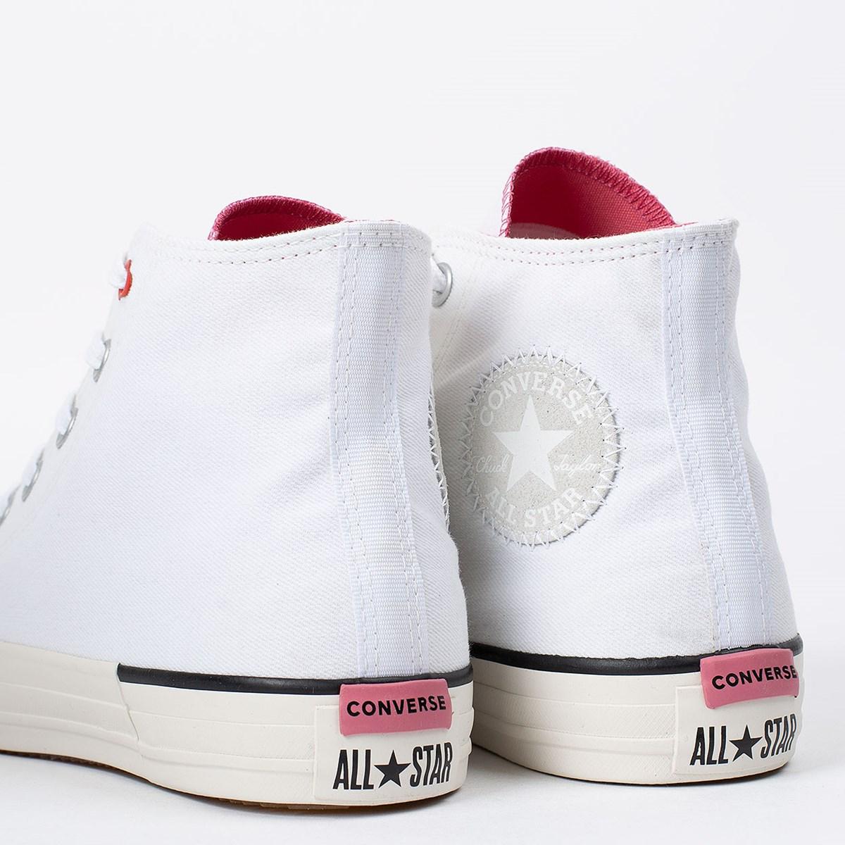 Tênis Converse Chuck Taylor All Star Hi Love Branco CT14220002