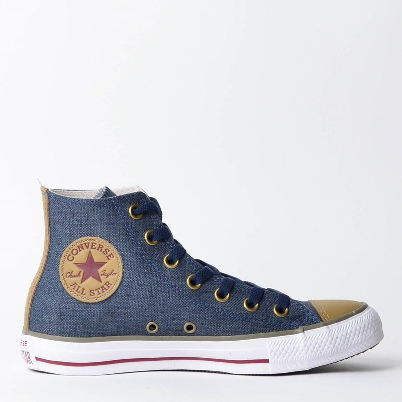 1776eb85d17 Tênis Converse Chuck Taylor All Star Hi Marinho CT04350001 - Loja Virus