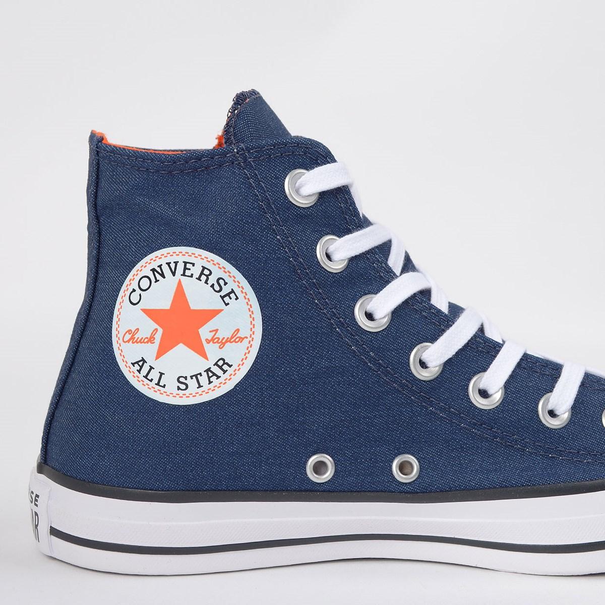 Tênis Converse Chuck Taylor All Star Hi Marinho CT13910001