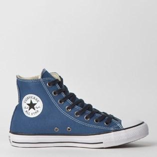 Tênis Converse Chuck Taylor All Star Hi Marinho Preto CT11640003