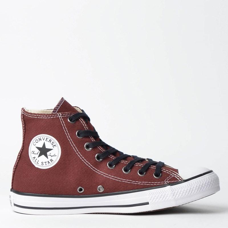 01efd56e675 Tênis Converse Chuck Taylor All Star Hi Marrom Intenso CT11640001 ...