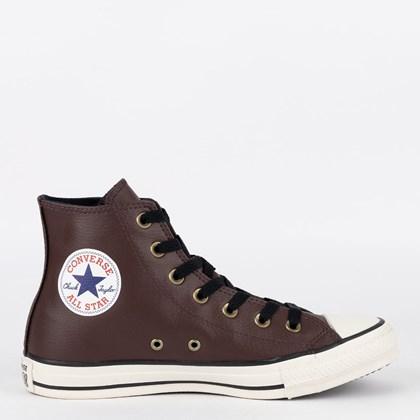 Tênis Converse Chuck Taylor All Star Hi Marrom Preto CT04510004