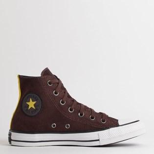 Tênis Converse Chuck Taylor All Star Hi Marrom Preto CT13460001