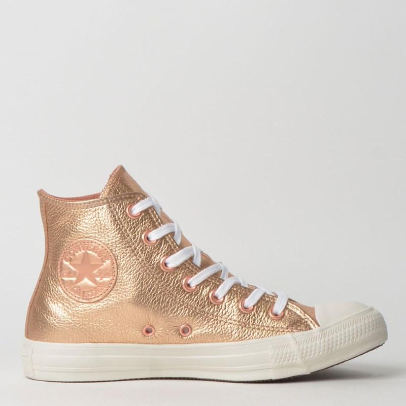 Tênis Converse Chuck Taylor All Star Hi Ouro Escuro CT11420001