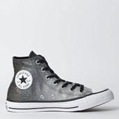 Tênis Converse Chuck Taylor All Star Hi Prata Puro CT08550002