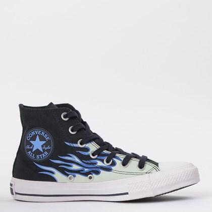 Tênis Converse Chuck Taylor All Star Hi Preto Azul CT15130001