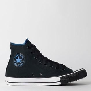 Tênis Converse Chuck Taylor All Star Hi Preto Azul Escuro CT12860001