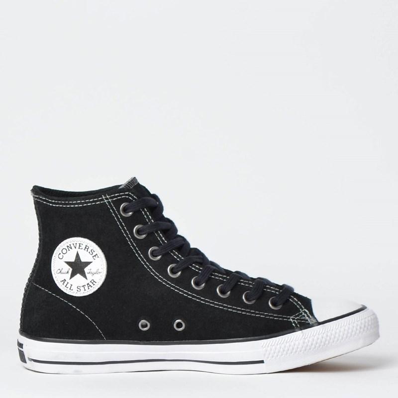 Tênis Converse Chuck Taylor All Star Hi Preto Branco CT11620001