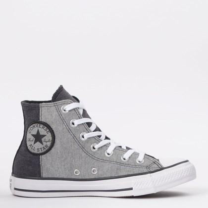 Tênis Converse Chuck Taylor All Star Hi Preto Cinza CT14440001