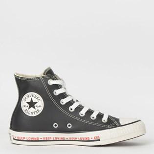Tênis Converse Chuck Taylor All Star Hi Preto CT12080001
