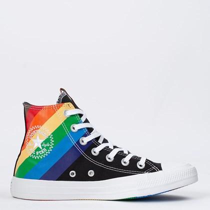 Tênis Converse Chuck Taylor All Star Hi Pride Preto Azul Ceu CT14150001