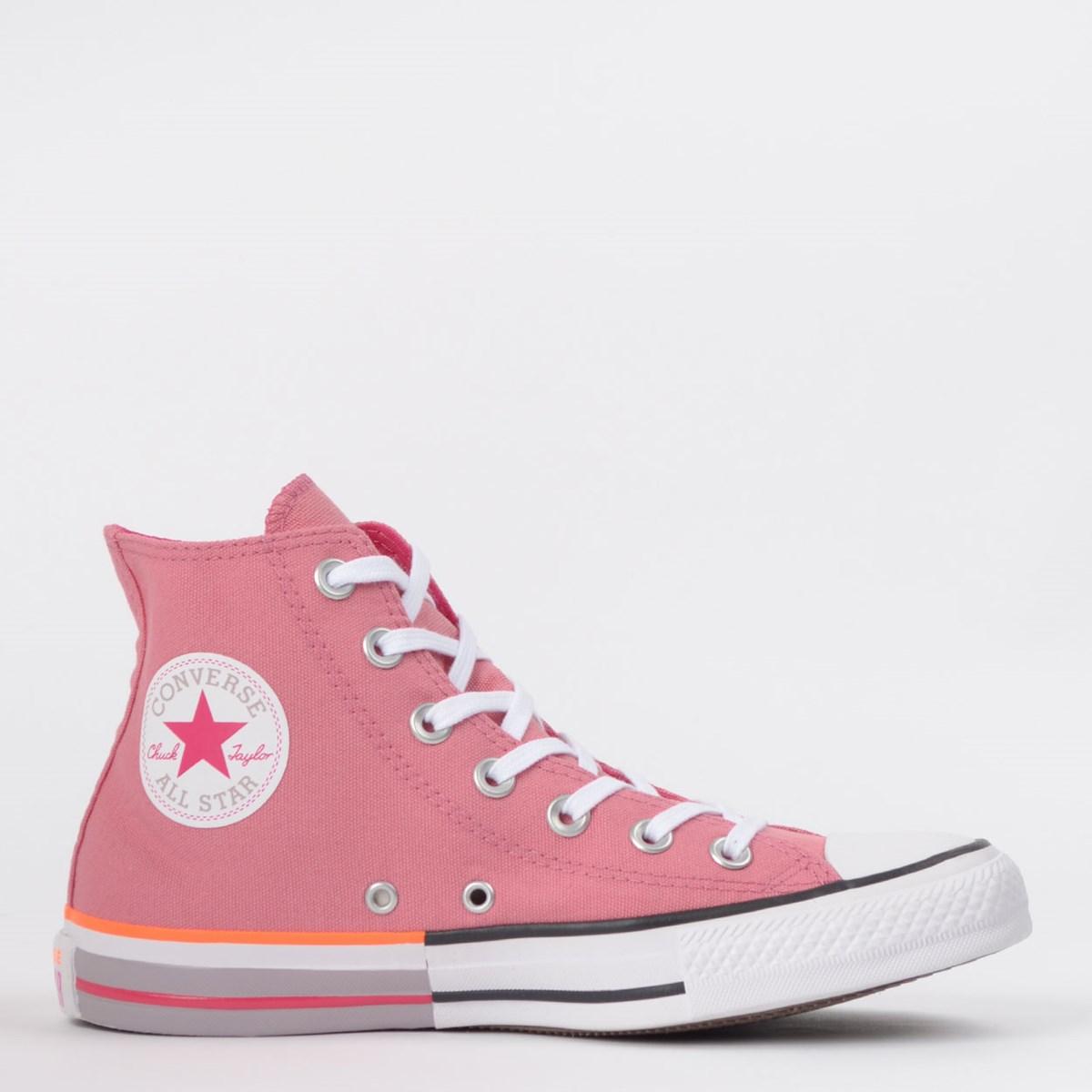 Tênis Converse Chuck Taylor All Star Hi Rosa Palido CT14310003