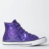 Tênis Converse Chuck Taylor All Star Hi Roxo Intenso CT11980001