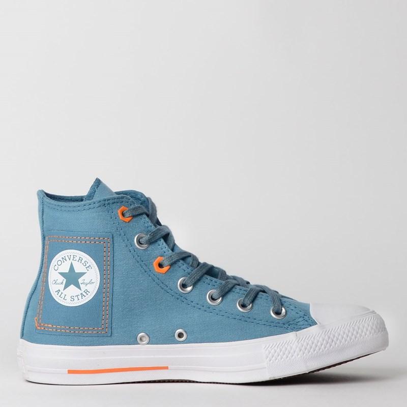 Tênis Converse Chuck Taylor All Star Hi Verde Agua CT12170001
