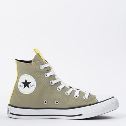 Tênis Converse Chuck Taylor All Star Hi Verde Campestre Amarelo Citrico CT15640003
