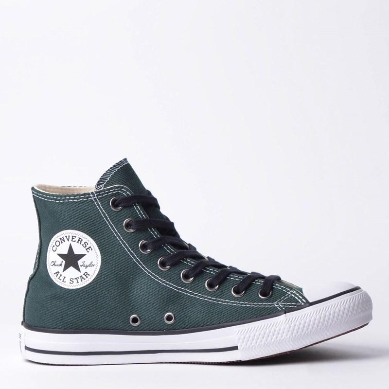 Tênis Converse Chuck Taylor All Star Hi Verde Militar CT11640002 ... 18fc5650dd7