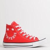 Tênis Converse Chuck Taylor All Star Hi Vermelho Branco CT13180002