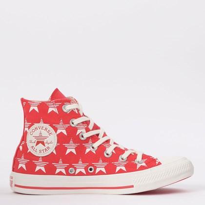 Tênis Converse Chuck Taylor All Star Hi Vermelho CT14790002
