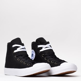 Tênis Converse Chuck Taylor All Star II Hi Black White Navy 553059