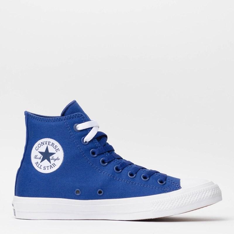 Tênis Converse Chuck Taylor All Star II Hi Sodalite Blue White Navy 153051