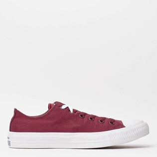 Tênis Converse Chuck Taylor All Star II Ox Deep Bordeux White Navy 153054  ... 4cca967d2be1c