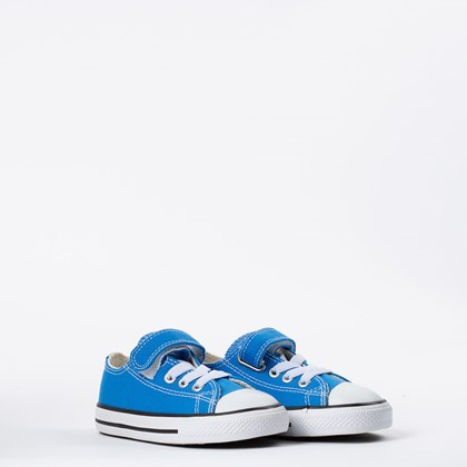 Tênis Converse Chuck Taylor All Star Kids 1V Azul Digital CK08150011