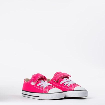 Tênis Converse Chuck Taylor All Star Kids 1V Rosa Choque CK08150013
