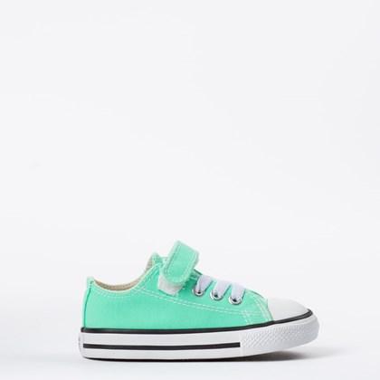 Tênis Converse Chuck Taylor All Star Kids 1V Verde Brilhante CK08150012
