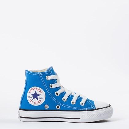 Tênis Converse Chuck Taylor All Star Kids Hi Azul Digital CK04280029