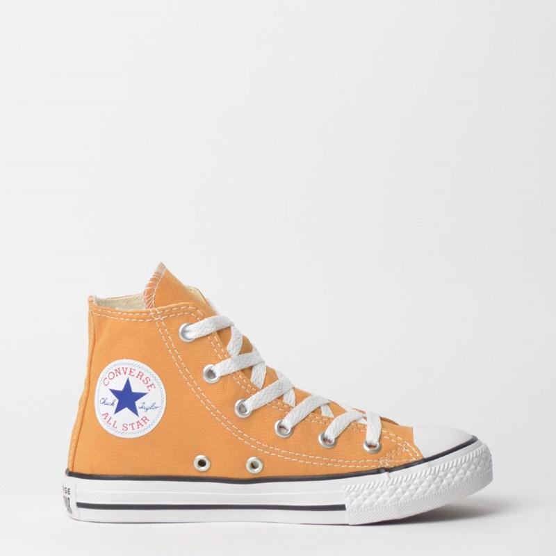 Tênis Converse Chuck Taylor All Star Kids Hi Mostarda CK04280014
